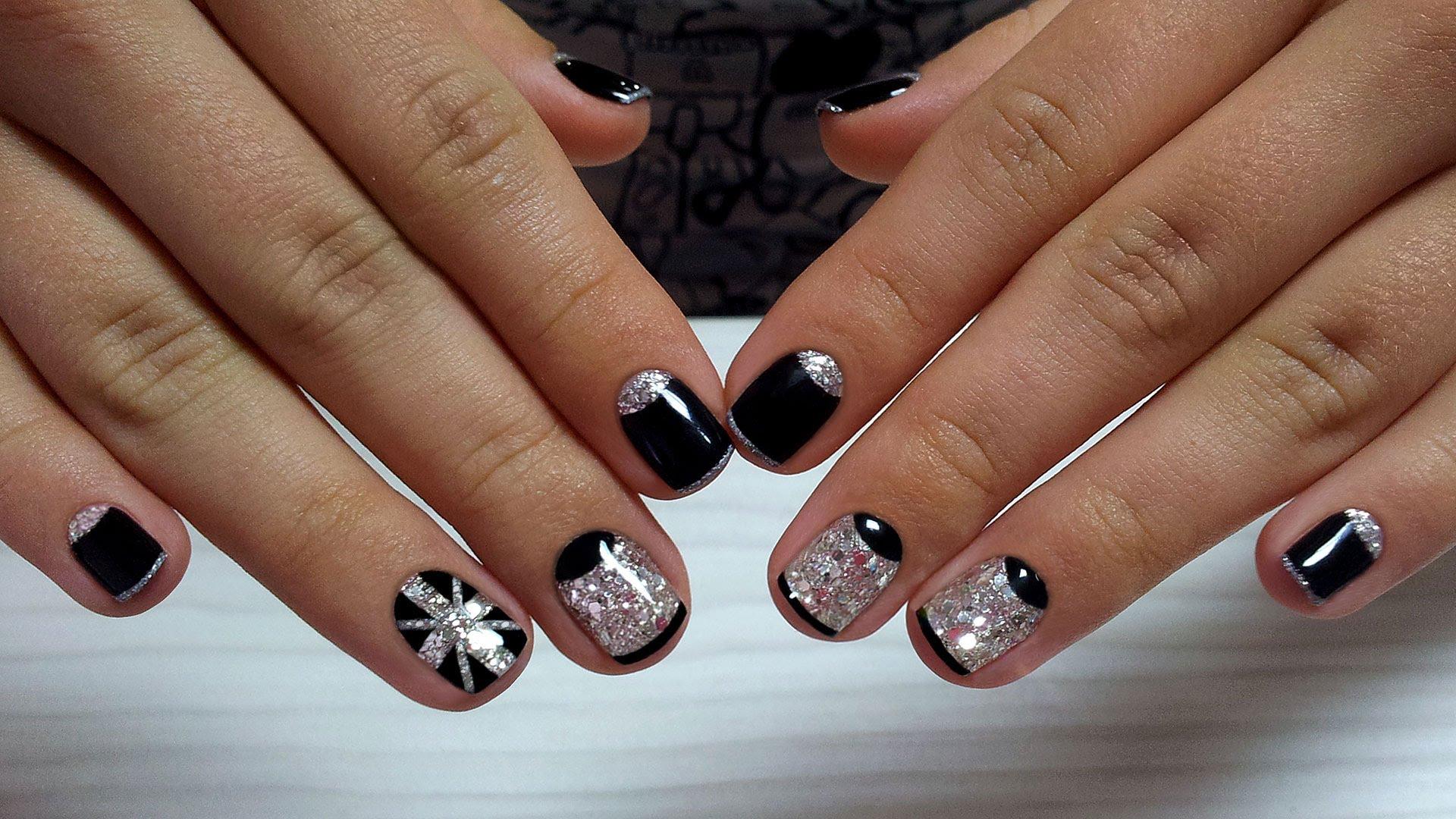Картинки Шеллак На Короткие Ногти Дизайн